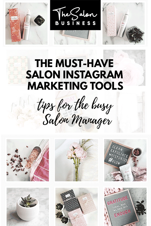 Salon Instagram tips, marketing, and tools
