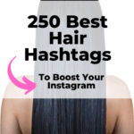 Best hair hashtags for Instagram