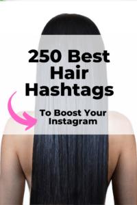 Best hair hashtags for Instagram
