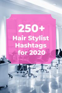 Best hair stylist hashtags