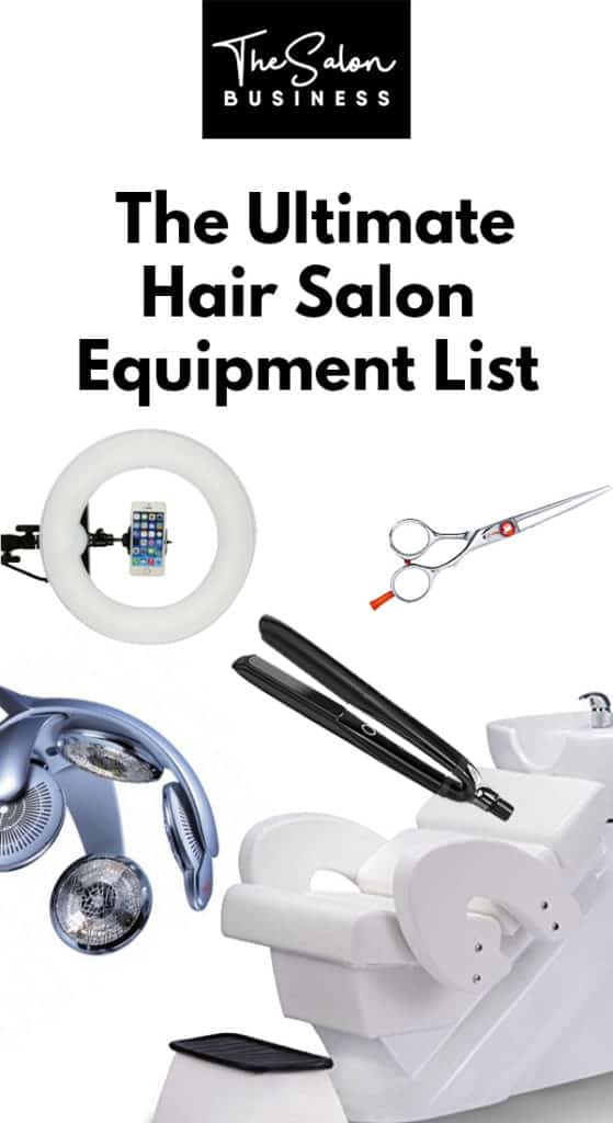 Hair Salon Equipment List