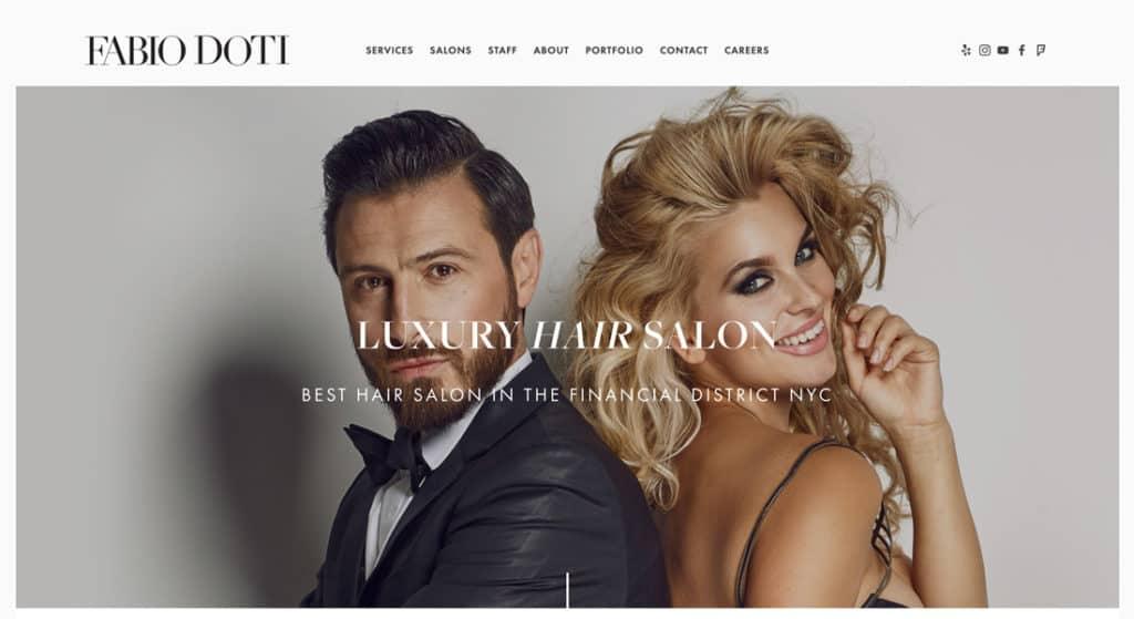 55 Best Salon Website Examples Design Inspiration Ideas