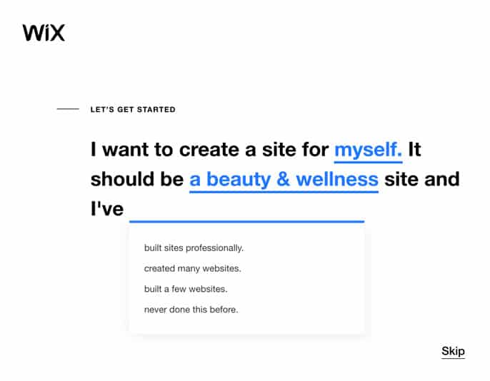 Setting up your salons website using Wix