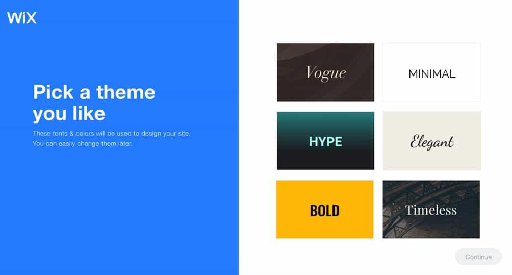 Salon website design style