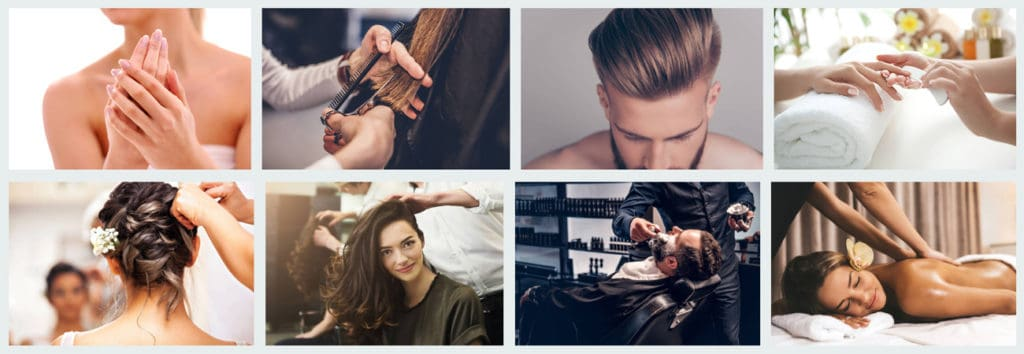 iStock images to use on salon website
