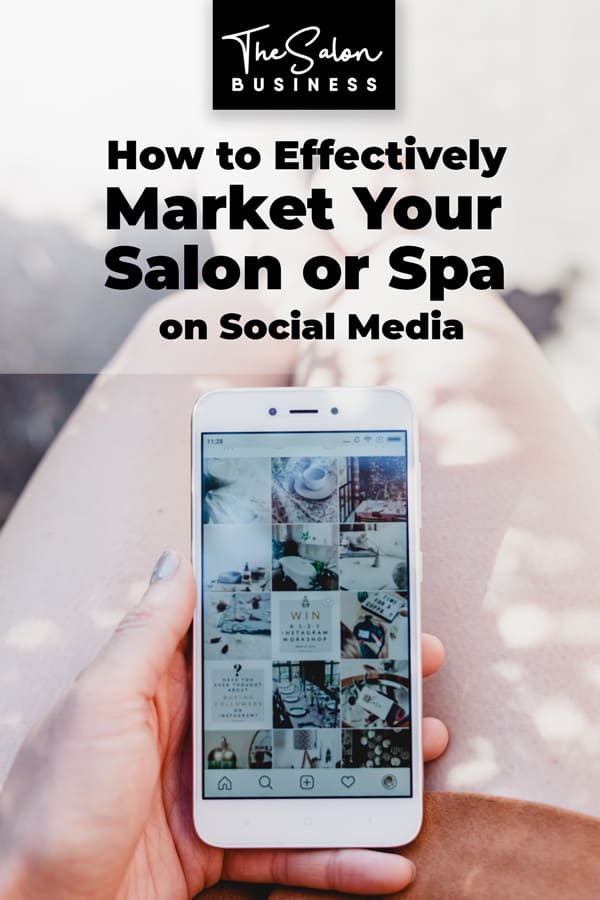How to market your salon on social media