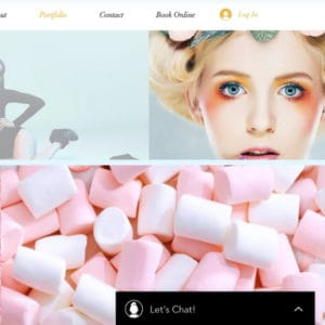 Hair and beauty salon website design ideas and examples
