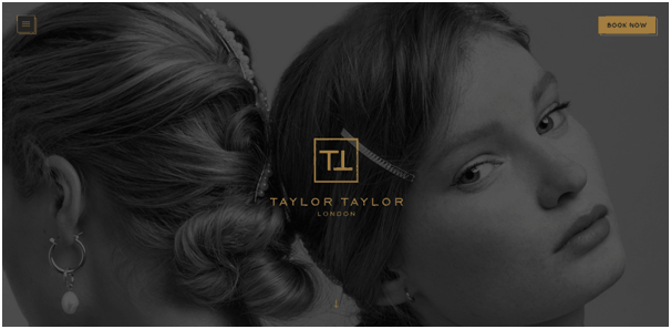 Taylor WordPress Salon Website