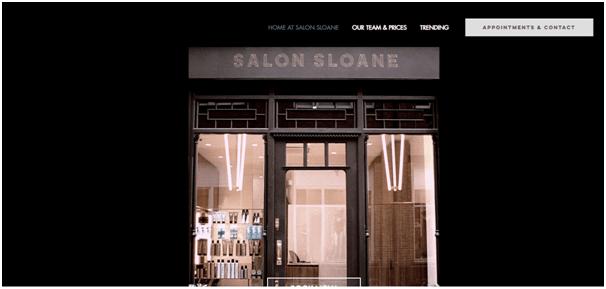 Elegant Wix Salon Website