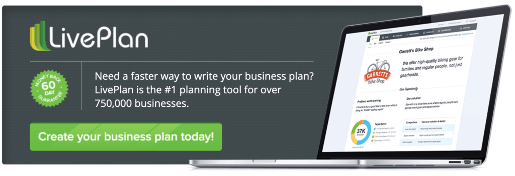 Let Live Plan help you create a beautiful salon business plan today