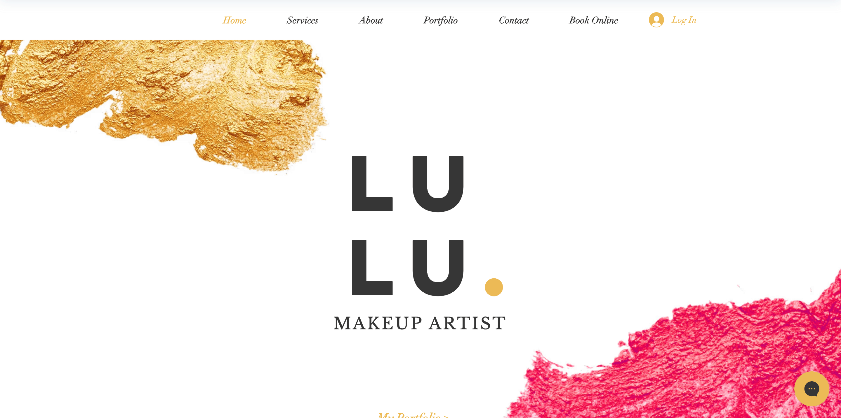 Cosmetology website design