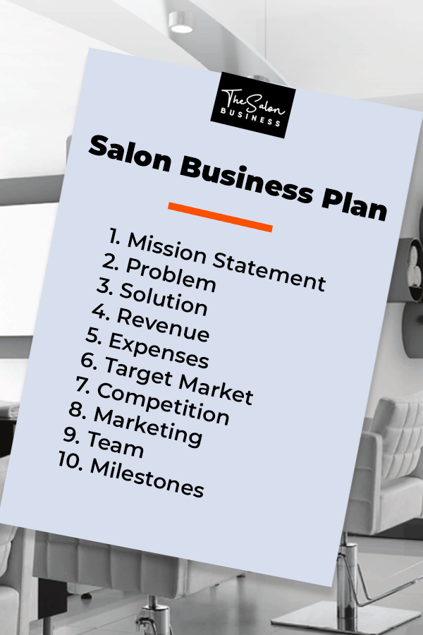 How to write a salon business plan. Template, ideas, and examples