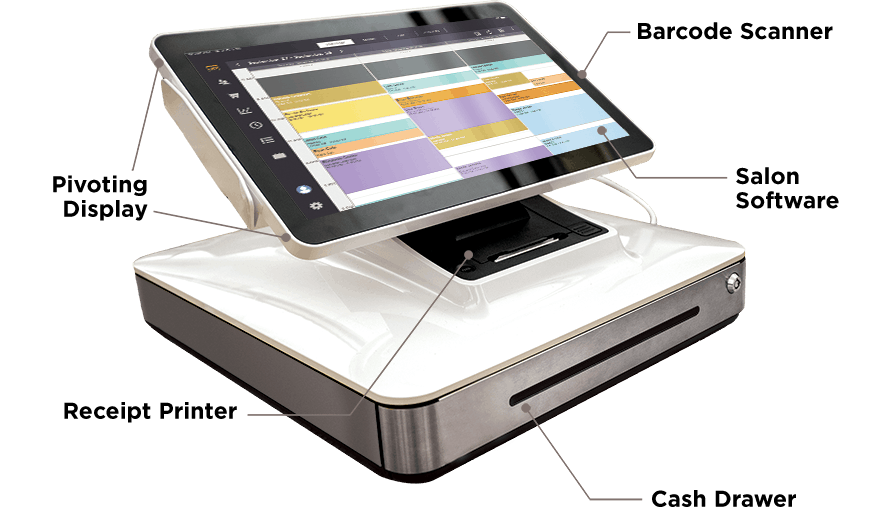 Salon point of sale system from salon iris