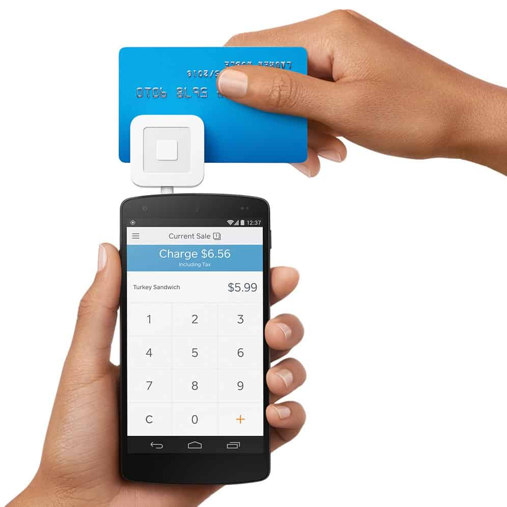 Accept credit card payments on the go