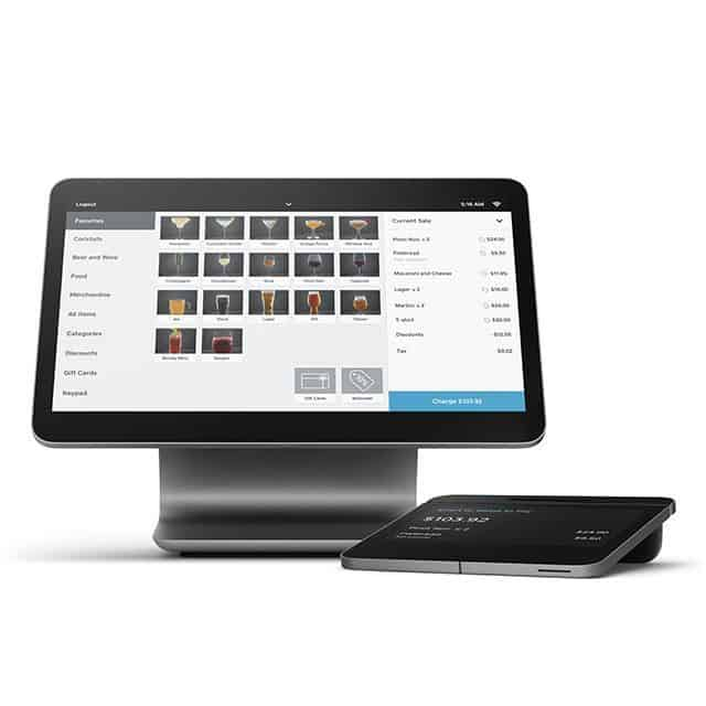 Square appointments check out system