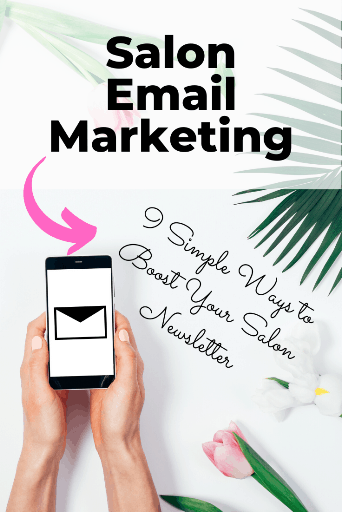 Salon email marketing and salon newsletters