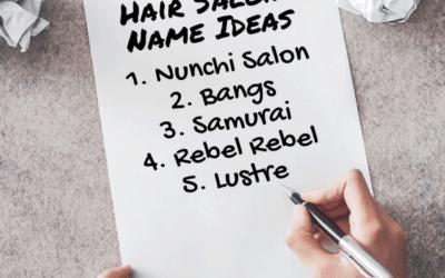 437 Truly Unique & Creative Hair Salon Names: The Ultimate List
