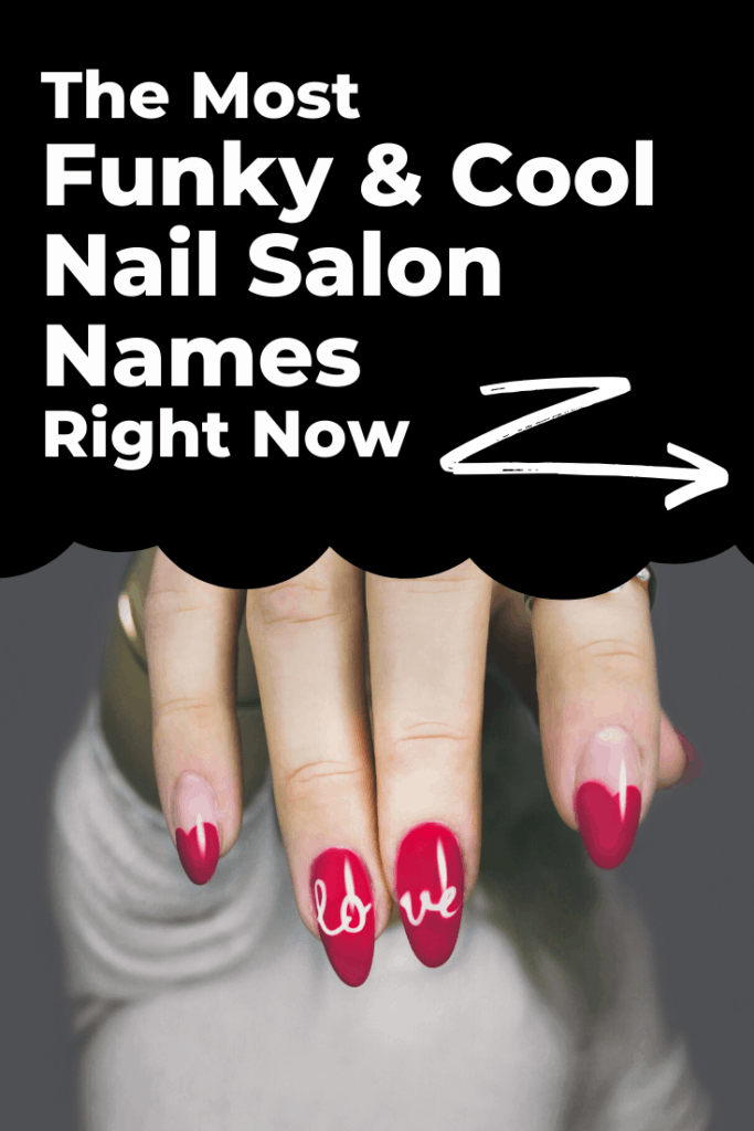 Cool nail salon names