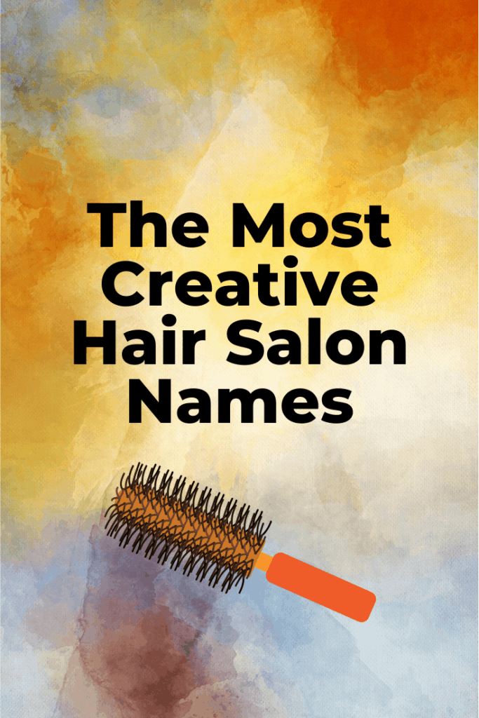 Creative hair salon names