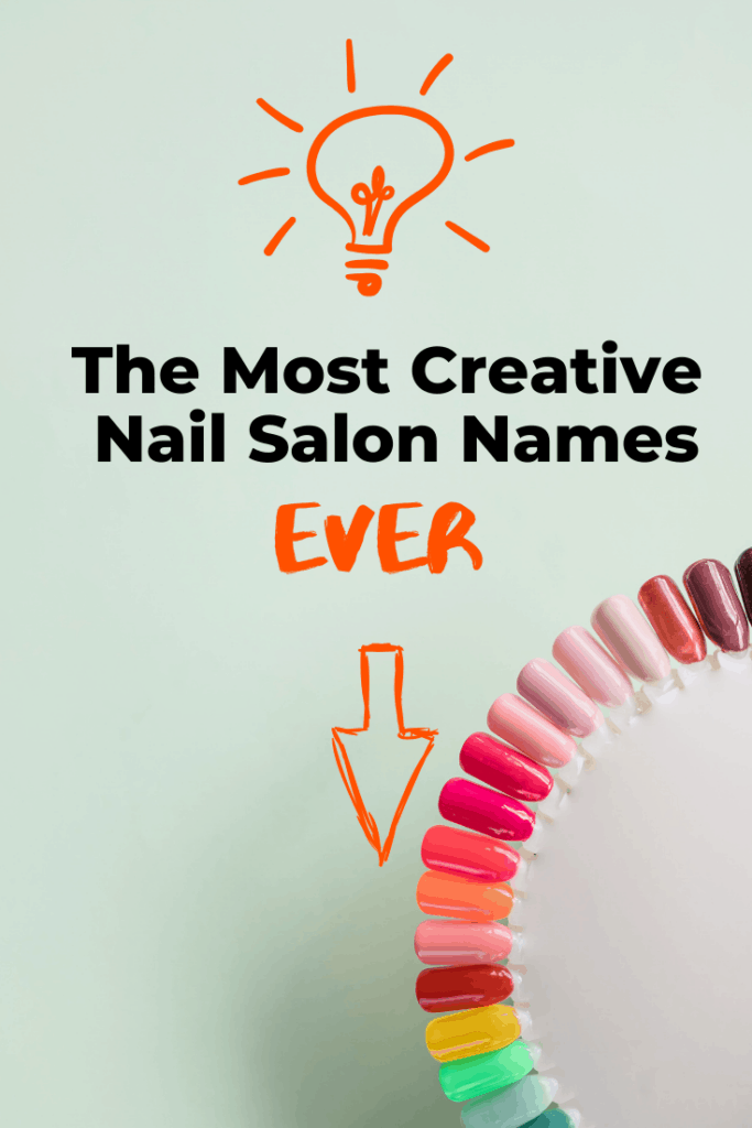Creative nail salon names