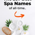 Spa name ideas