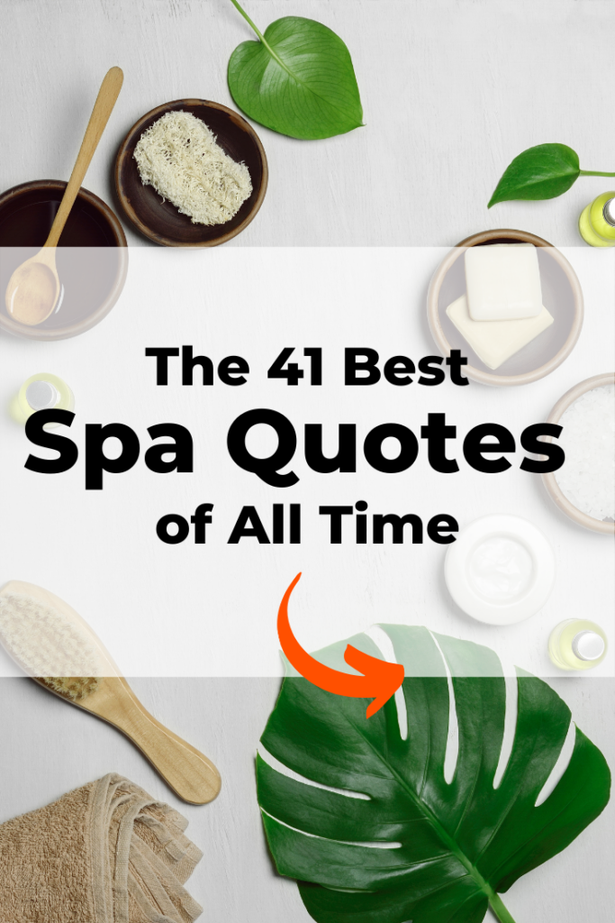 41 Spa Massage Therapy Quotes Pampering Relaxation