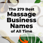 Best Massage Business Names