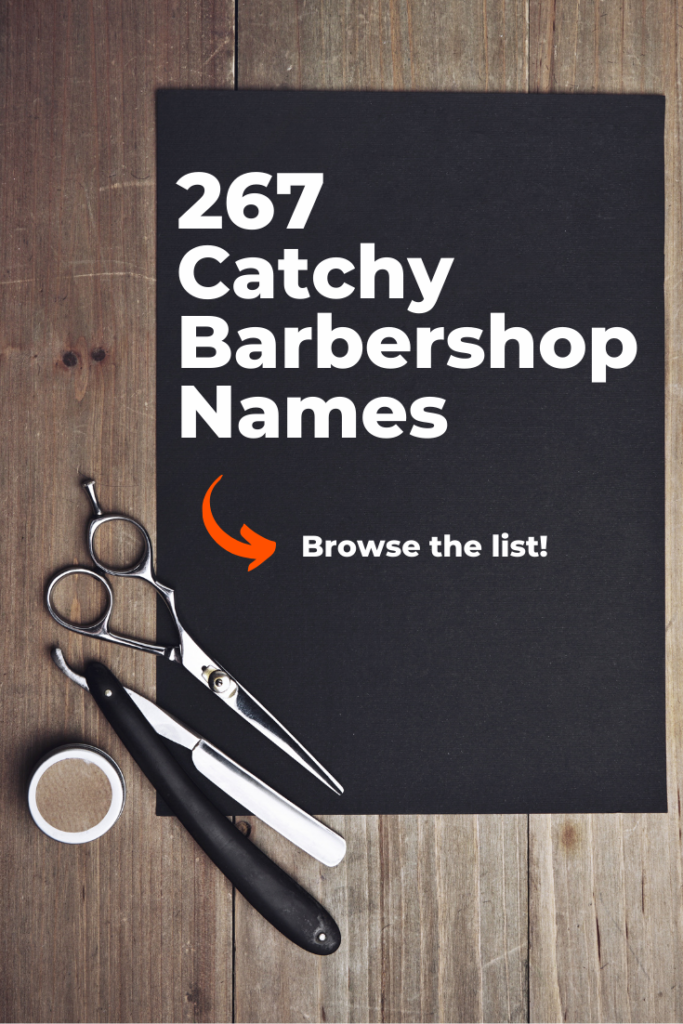 Catchy Barbershop Names