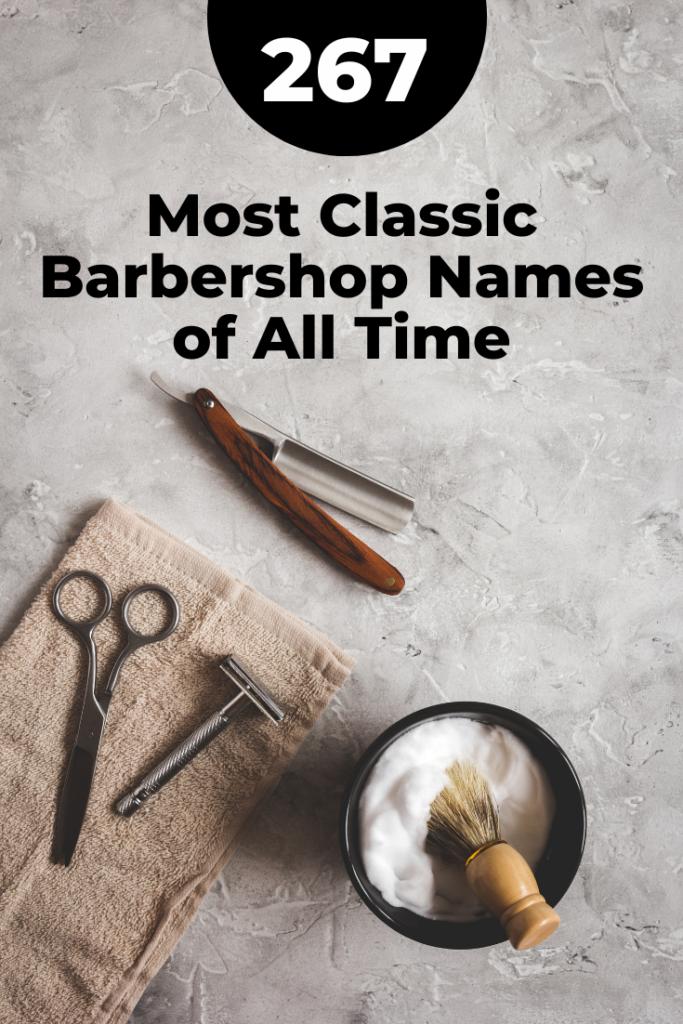 Classic Barbershop Names