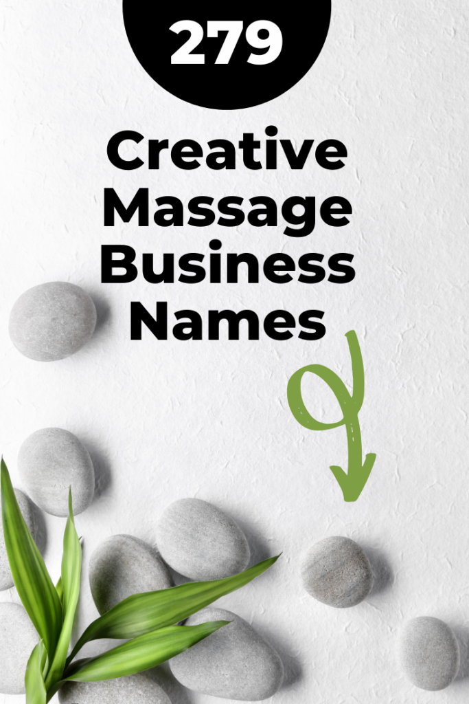 Creative Massage Business Names