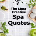 Creative spa quotes