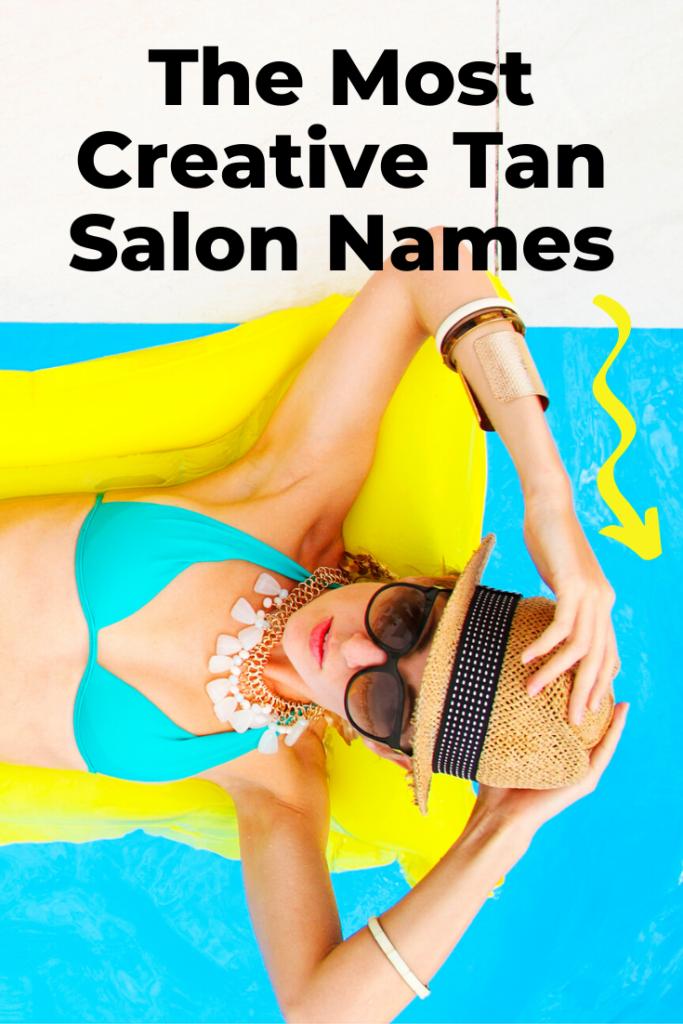 Creative tanning salon names