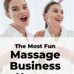 Fun massage business names
