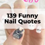 Funny nail quotes
