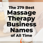 Massage Therapy Business Names