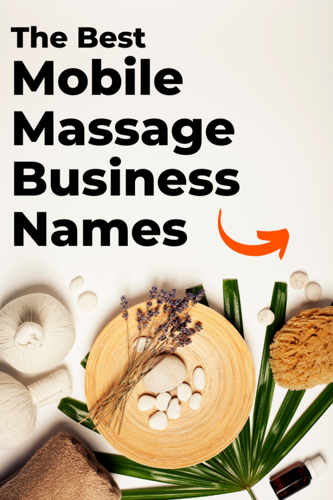 Mobile Massage Business Names