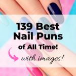 Funny nail puns with Instagram images