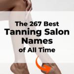 Tanning salon name ideas