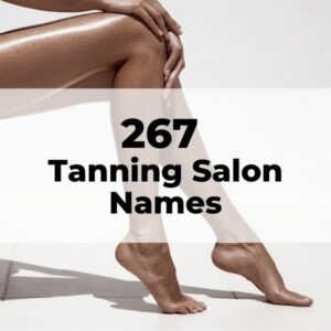 tanning salon names