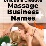 Unique & Creative Massage Business Names