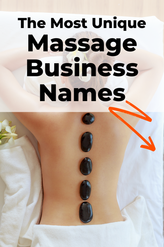 Unique massage business names