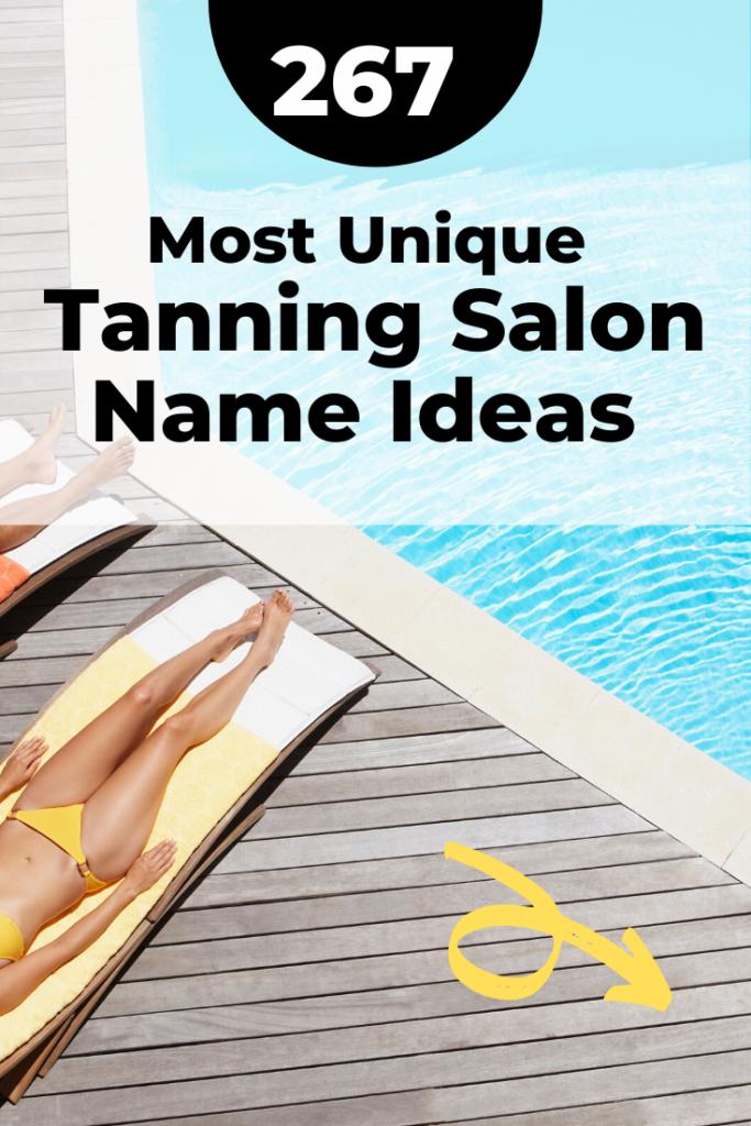 Unique tanning salon names