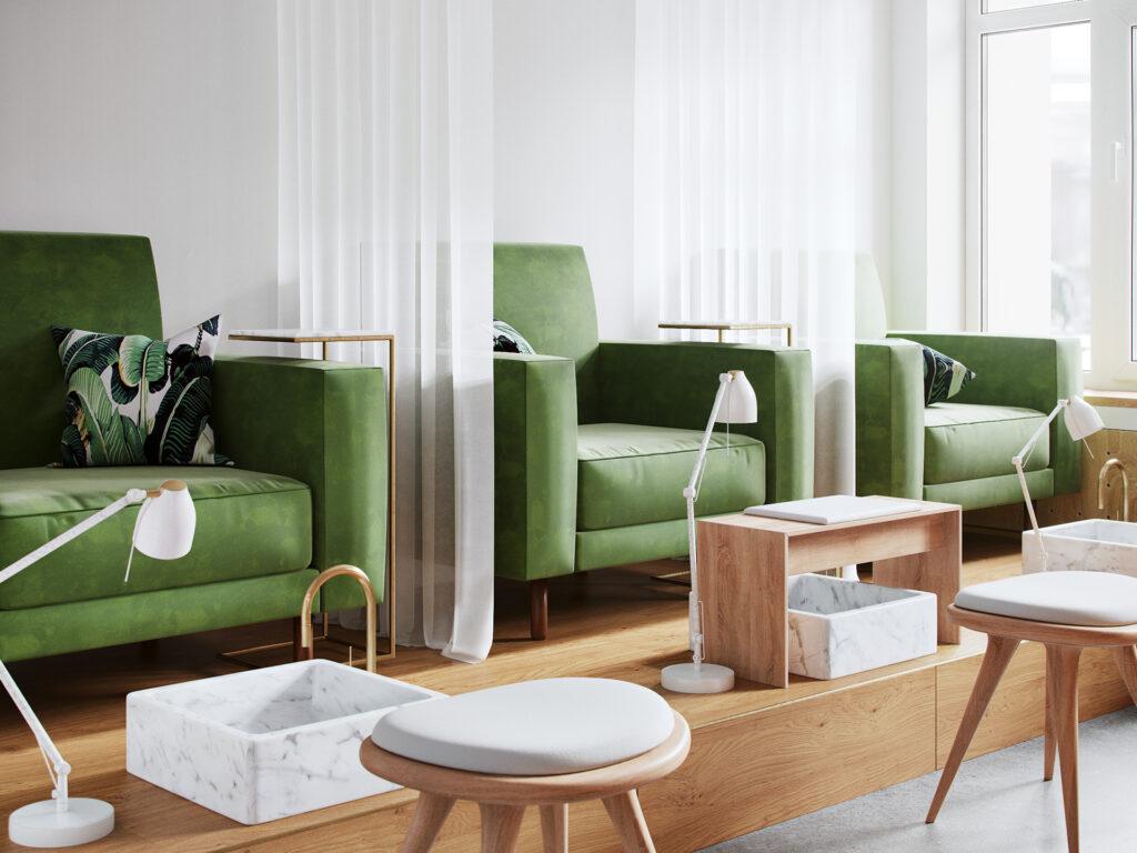 Pedicure Room Design