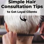 Hair consultation tips