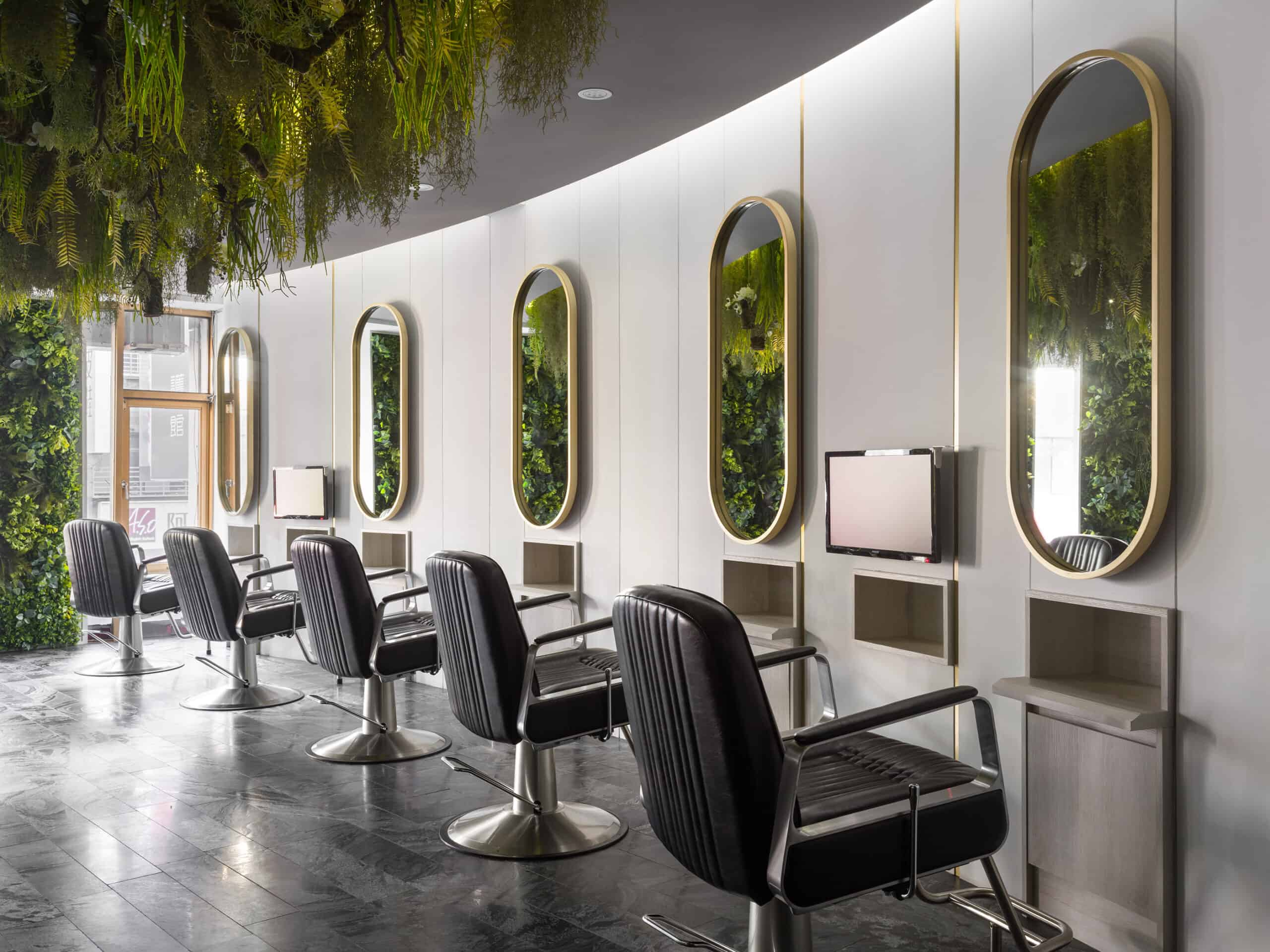14 Beautiful Hair Salon Designs Decor