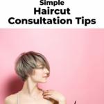 Haircut consultation