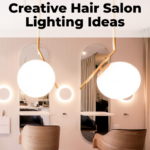 Hair salon lighting design ideas