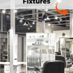 Salon lighting fixtures