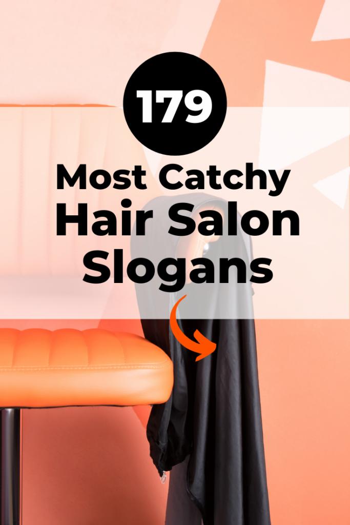 Catchy Hair Salon Slogans