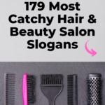 catchy hair and beauty salon slogans